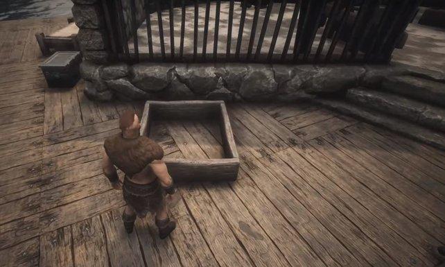 Noch ist die Futterbox leer. Das sollte sie aber nicht bleiben, wenn ihr große, starke Tiere züchten wollt.