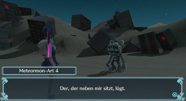 Meteormon-Art 4 verdächtigt seinen Nachbarn, ist aber selbst der Lügner.