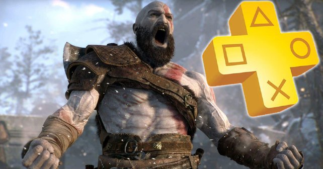 """Auch God of War gehört zu der """"PS Plus""""-Collection, mit der Sony """"PS Plus""""-Mitglieder auf der PS5 begrüßen möchte."""