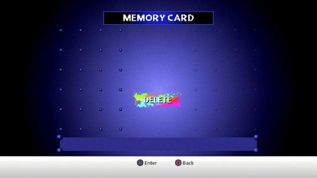 Eure virtuelle Memory Card bietet zu Beginn genügend Platz.