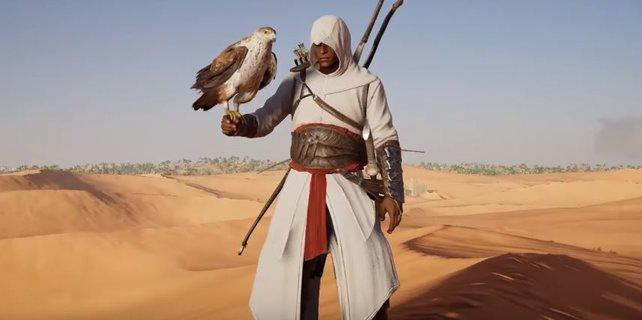 Mit Altair fing einmal alles an. Seine Montur könnt ihr in Origins freischalten.
