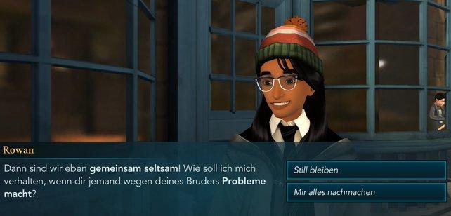 Am Anfang müsst ihr euch noch nicht behaupten. Später werden eure Freundschaften in HP: Hogwarts Mystery mit Fragen auf die Probe gestellt.