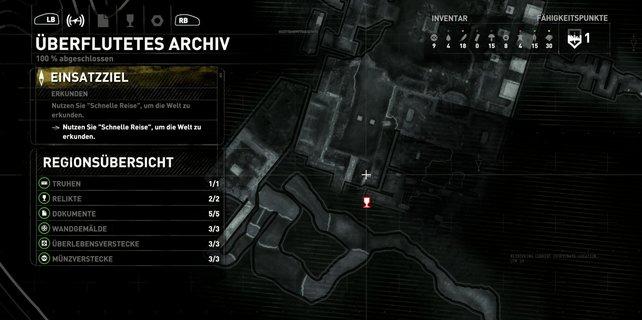 Karte: Überflutetes Archiv (2/2)
