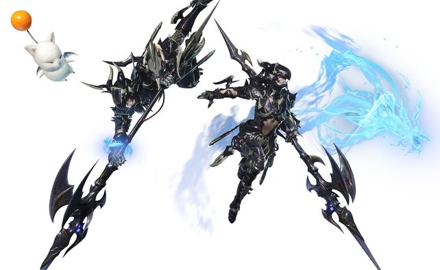 Ein echter Hingucker: Das Drachenreiter-Rüstungsset kann sich sehen lassen.