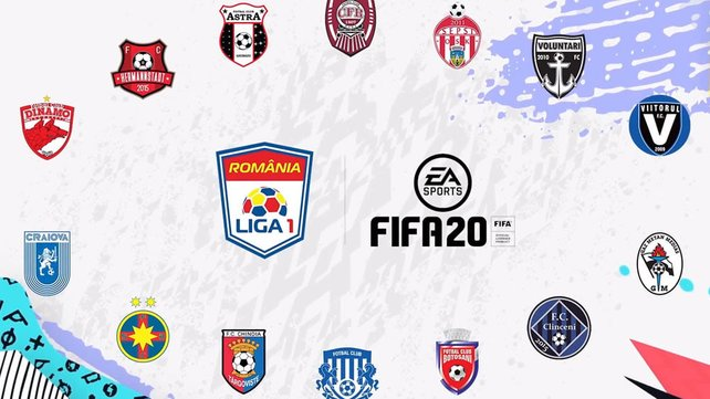 Dieses Jahr ist zum ersten Mal auch die erste rumänische Liga in FIFA verfügar.