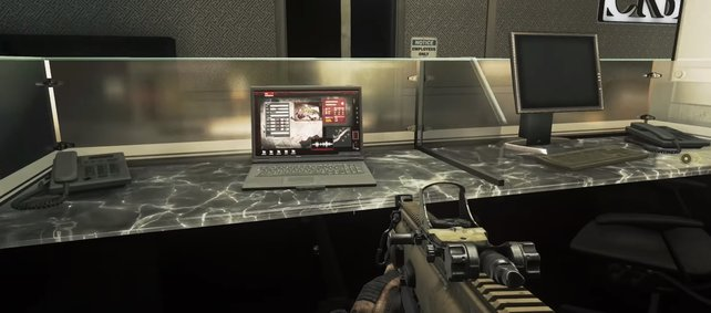 Diese Laptops bergen feindliche Aufklärungsdaten und müssen in CoD:MW2 gefunden werden.