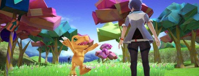 Der Screenshot stammt aus Digimon World - Next Order.