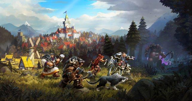 Die Champions verlassen ihr Dorf und betreten die ungezähmten Lande. Hier erwarten sie jede Menge Abenteuer.