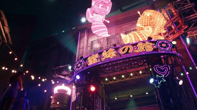 Das Honigtöpchen ist der belibteste Nachtclub des Wallmarkts und Anyans Reich.