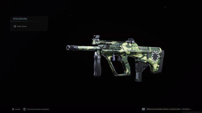 Kleiner Spoiler: Die AUG ist mit die beste Waffe in CoD: Warzone.