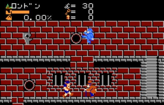 Auf dem Famicom ging es actionreicher zu.