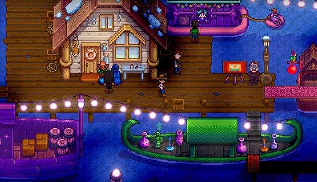 Der Nachtmarkt ist zum Beispiel neu mit dabei. Ihr findet ihn aber nur im Winter in der Hafengegend vor.