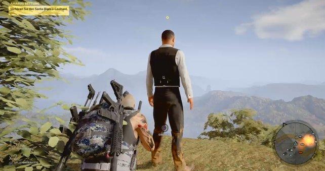 Markiert eure Ziele in Ghost Recon Wildlands und schleicht euch dann unbemerkt an.