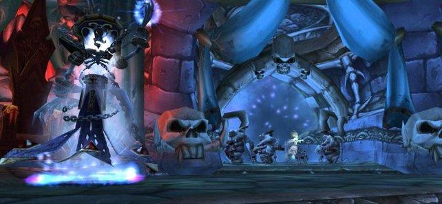 Der Schlachtzug Naxxramas ist nicht von Anfang an Teil von WoW: Classic, sondern erscheint erst in Phase 6.