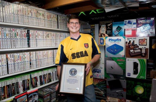 Für Michael Thomason hat sich die Sammelleidenschaft gelohnt. Nach dem Verkauf der knapp 11.000 Spiele ist der Gute ein gemachter Mann.