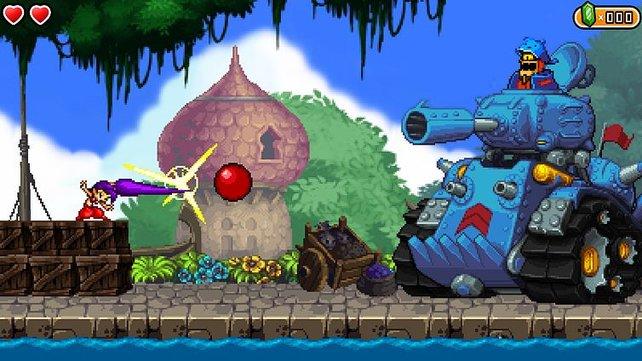 Shantae and the Pirate's Curse kommt rüber wie ein exzellentes 16Bit-Spiel.