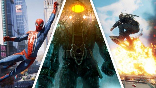 Ab jetzt im PS Now enthalten: Spider-Man, die Bioshock Collection und Just Cause 4.