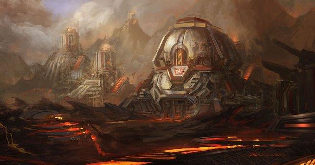 Konzeptzeichnung zu Starcraft 2 - Heart of the Swarm: Der Name brauchte schon damals keine anderen Zugpferde.
