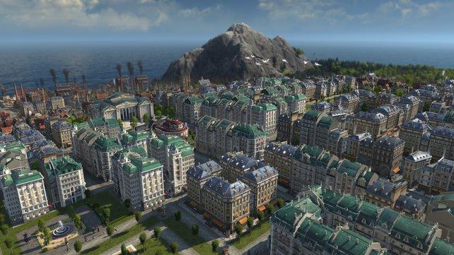 Klassische Moderne: Die Industrialisierung wird von Fabriken und Wohnblocks geprägt.