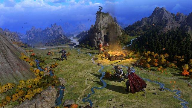 Ein Blick auf eine Konfrontation in der Kampagne.