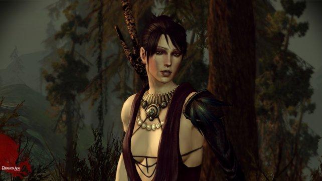 Die Hexe Morrigan hält sich mit ihrer Meinung nicht zurück.