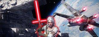 Panorama: Vielleicht hat Ciri über Star Wars gesprochen