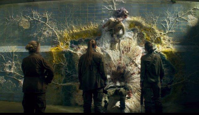 Far Cry New Dawn und Die Auslöschung (Szenenausschnitt hier zu sehen) haben ähnliche Welten. Im neuem Far Cry könnte der Bösewicht ein mutierter Wissenschaftler sein.