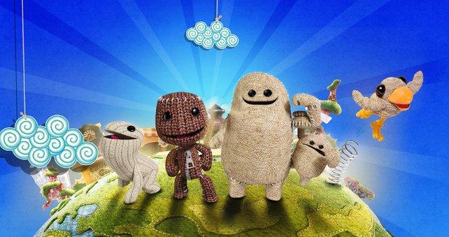 Die neuen Charaktere in Little Big Planet 3 haben allesamt frische Fähigkeiten.