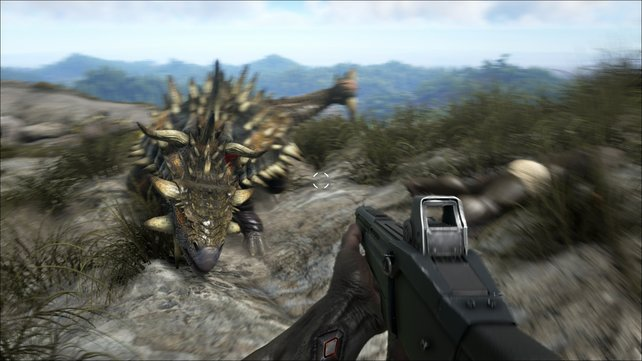 Wenn ihr in Ark - Survival Evolved alle Trophäen und Erfolge haben wollt, müsst ihr den hier zähmen.