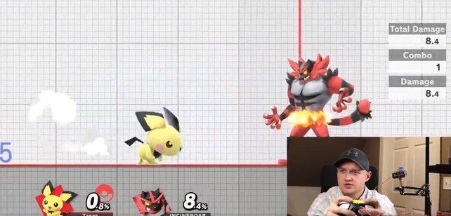 Das süße Pokémon Pichu kann auch sehr gut austeilen - das wird ein Spieler bald am eigenen Leib erfahren.
