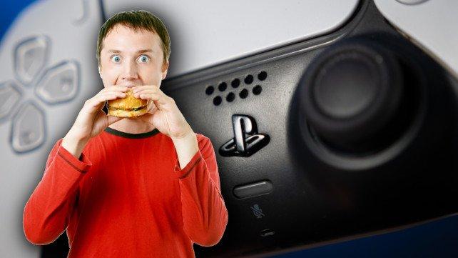 McDonalds hat einen kuriosen PS5-Controller designt. (Bildquelle: be_low, Getty Images)