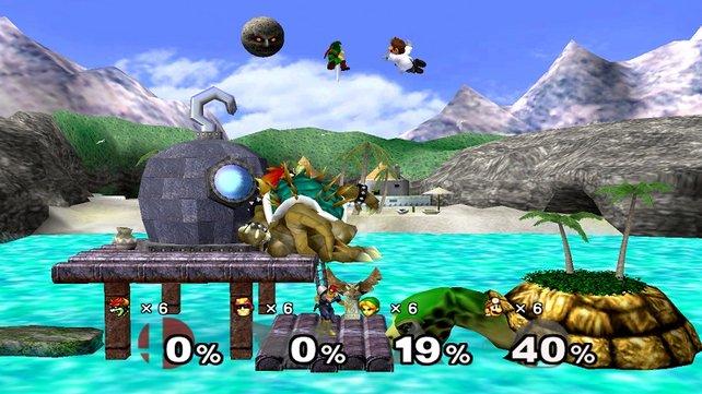 Super Smash Bros. Melee ist das zweite Spiel der Prügelserie und macht sie erst richtig berühmt.