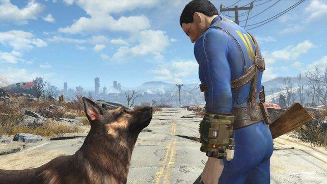 Eure bester Freund im Spiel ist ein Hund.