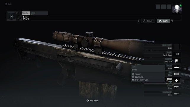 Ihr wollt für das Sniper-Gewehr einen coolen Skin? Dann müsst ihr satte 10 Euro zahlen.