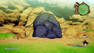 Fundorte mehrerer Felsbrocken