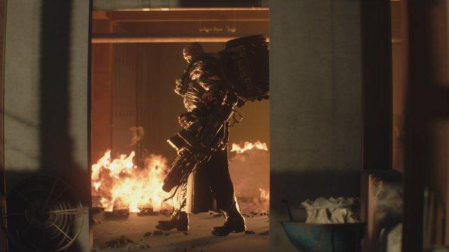 Wenn ihr Mister X aus RE2 schon schlimm fandet, dann macht euch auf Nemesis gefasst. Er ist noch weitaus gefährlicher!