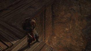 Verschlossene Tür in Grims Graben öffnen