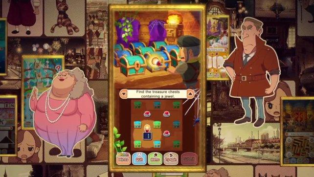 Die Layton-Spiele sind bekannt für ihre knackigen Rätsel und schrulligen Charaktere.