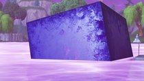 Der lila Würfel sorgt für Aufsehen