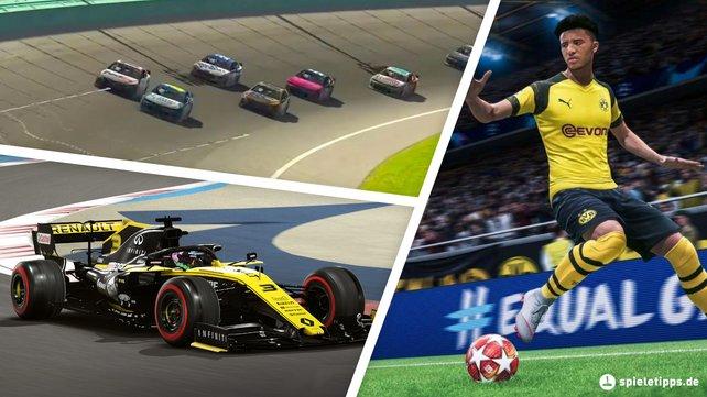 Durch Videospiele können Fans trotz Corona-Krise ihren Lieblingssport genießen