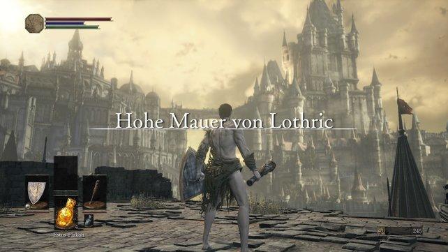 Die Hohe Mauer von Lothric: Optisch eine wahre Augenweide.