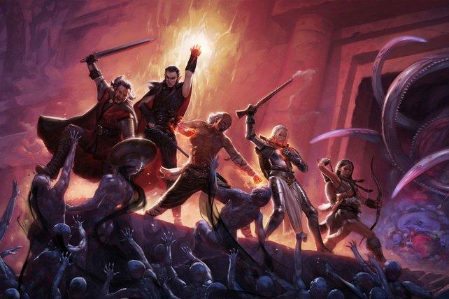 Auch das gefeierte Pillars of Eternity ist demnächst gratis im Epic Games Store zu haben.