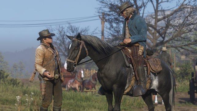 Red Dead Redemption 2 bietet grafisch eindrucksvolle Pferde — aber auch hier ist nicht alles korrekt.