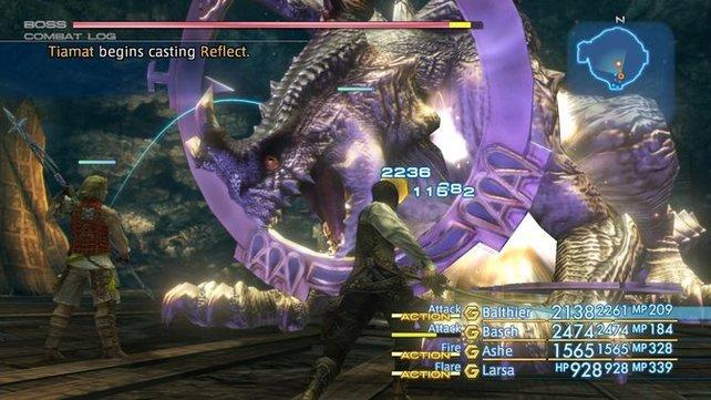 Ihr müsst euch auf das ungewöhnliche Kampfsystem von FF12 einlassen. Habt ihr es einmal verstanden, macht es sehr viel Laune.