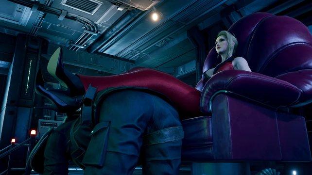 Madame Scarlet präsentiert sich als sehr sympatische und verständnisvolle Frau... oder auch nicht.