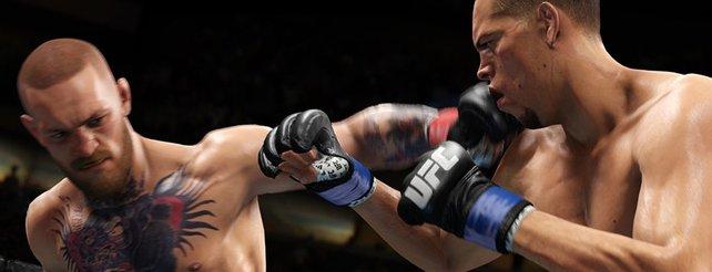 Dieses Bild stammt aus UFC 3 und nicht aus einer echten Übertragung.