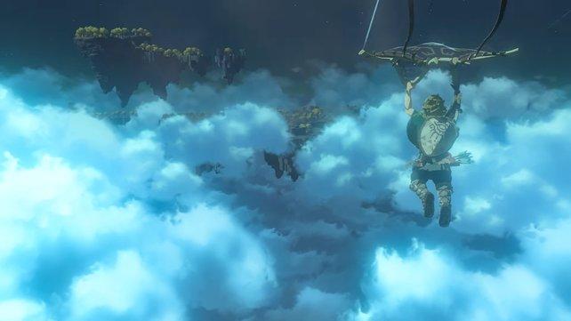 Es geht weit über die Wolken hinaus in Zelda: Breath of the Wild 2.