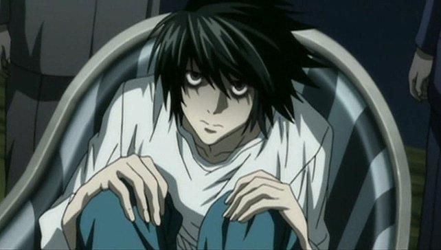Das beliebteste Cosplay für Einsteiger und handwerklich nicht ganz so begabte Leute: L aus dem Anime Death Note.