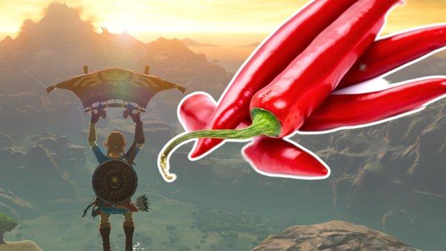 So schießt ihr Link in ungeahnte Höhen. Bild: Nintendo / Getty Images - Duncan_Andison