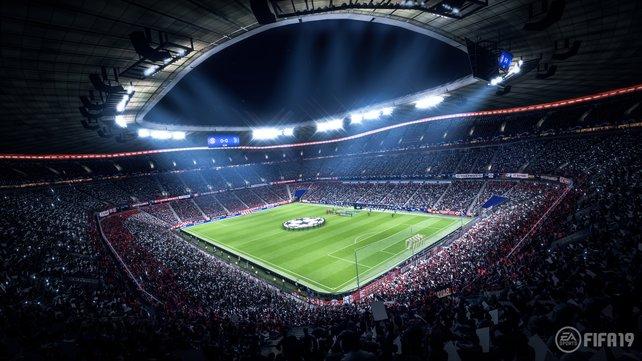 Neben einigen Bundesliga-Stadien sind alle Arenen der Premier League und der spanischen Liga (bis auf das Camp Nou) in FIFA 19 enthalten.